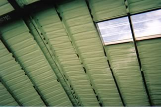 Closed Cell Insulation...metal building.